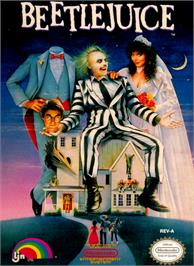 Box cover for Beetlejuice on the Nintendo NES.