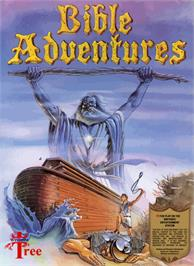 Box cover for Bible Adventures on the Nintendo NES.