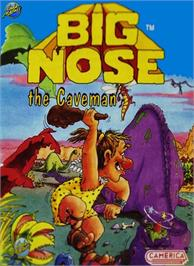 Box cover for Big Nose the Caveman on the Nintendo NES.