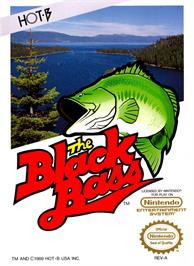 Box cover for Black Bass on the Nintendo NES.