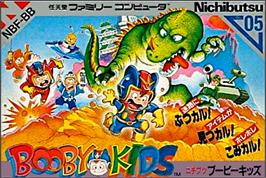 Box cover for Booby Kids on the Nintendo NES.