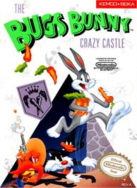 Box cover for Bugs Bunny Crazy Castle on the Nintendo NES.