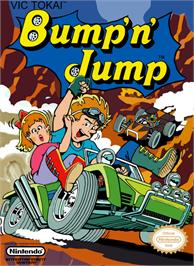 Box cover for Bump 'n' Jump on the Nintendo NES.