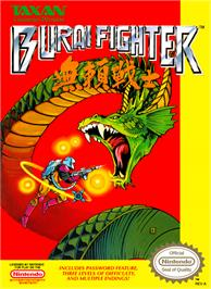 Box cover for Burai Fighter on the Nintendo NES.