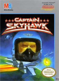 Box cover for Captain Sky Hawk on the Nintendo NES.