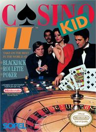Box cover for Casino Kid 2 on the Nintendo NES.