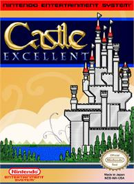 Box cover for Castle Excellent on the Nintendo NES.