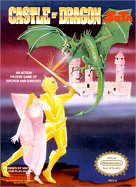 Box cover for Castle of Dragon on the Nintendo NES.