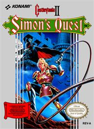 Box cover for Castlevania 2: Simon's Quest on the Nintendo NES.