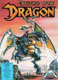 Box cover for Challenge of the Dragon on the Nintendo NES.