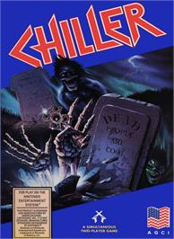 Box cover for Chiller on the Nintendo NES.