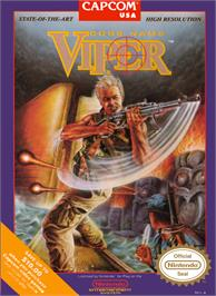 Box cover for Code Name: Viper on the Nintendo NES.