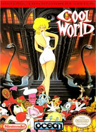 Box cover for Cool World on the Nintendo NES.