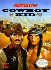 Box cover for Cowboy Kid on the Nintendo NES.