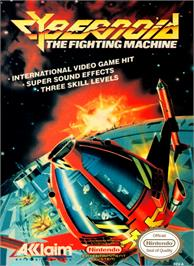 Box cover for Cybernoid: The Fighting Machine on the Nintendo NES.
