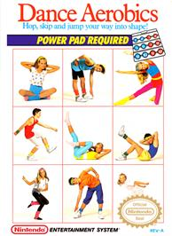 Box cover for Dance Aerobics on the Nintendo NES.