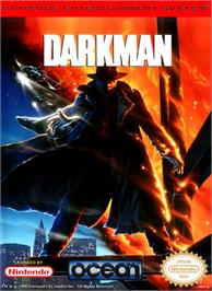 Box cover for Darkman on the Nintendo NES.