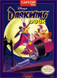 Box cover for Darkwing Duck on the Nintendo NES.