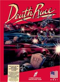 Box cover for Death Race on the Nintendo NES.