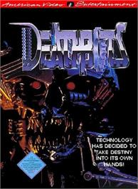 Box cover for Deathbots on the Nintendo NES.