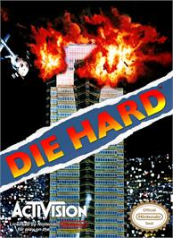 Box cover for Die Hard on the Nintendo NES.