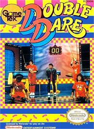 Box cover for Double Dare on the Nintendo NES.