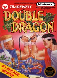 Box cover for Double Dragon on the Nintendo NES.