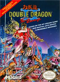 Box cover for Double Dragon II - The Revenge on the Nintendo NES.