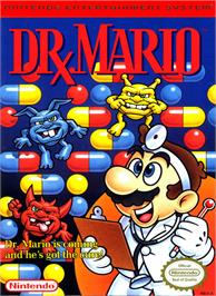 Box cover for Dr. Mario on the Nintendo NES.