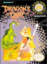 Box cover for Dragon's Lair on the Nintendo NES.
