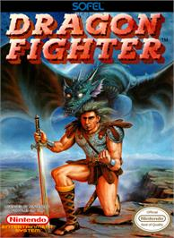 Box cover for Dragon Fighter on the Nintendo NES.
