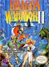 Box cover for Dragon Warrior 2 on the Nintendo NES.