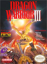 Box cover for Dragon Warrior 3 on the Nintendo NES.