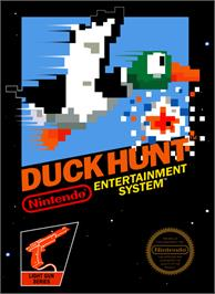 Box cover for Duck Hunt on the Nintendo NES.