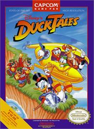 Box cover for Duck Tales on the Nintendo NES.