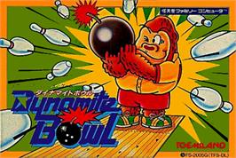 Box cover for Dynamite Bowl on the Nintendo NES.
