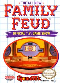 Box cover for Family Feud on the Nintendo NES.