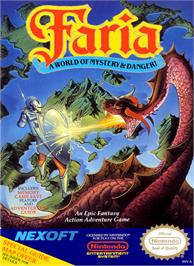 Box cover for Faria: A World of Mystery and Danger on the Nintendo NES.