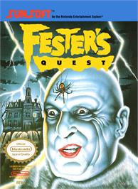 Box cover for Fester's Quest on the Nintendo NES.