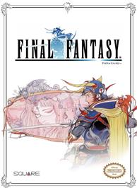 Box cover for Final Fantasy on the Nintendo NES.