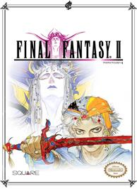 Box cover for Final Fantasy 2 on the Nintendo NES.
