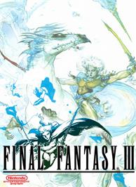 Box cover for Final Fantasy 3 on the Nintendo NES.