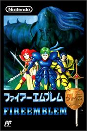 Box cover for Fire Emblem Gaiden on the Nintendo NES.