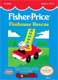 Box cover for Fisher-Price: Firehouse Rescue on the Nintendo NES.