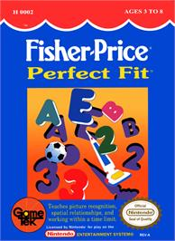 Box cover for Fisher-Price: Perfect Fit on the Nintendo NES.