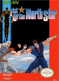 Box cover for Fist Of The North Star on the Nintendo NES.