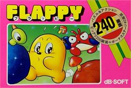 Box cover for Flappy on the Nintendo NES.