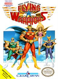 Box cover for Flying Warriors on the Nintendo NES.