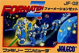 Box cover for Formation Z on the Nintendo NES.