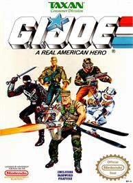 Box cover for G.I. Joe: A Real American Hero on the Nintendo NES.